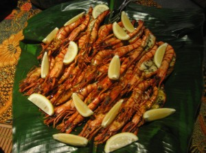 Beautiful shrimp in Manilla