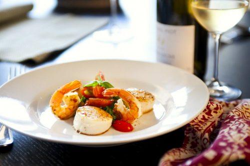 Shrimp and Scallops Chef Annette Tomei