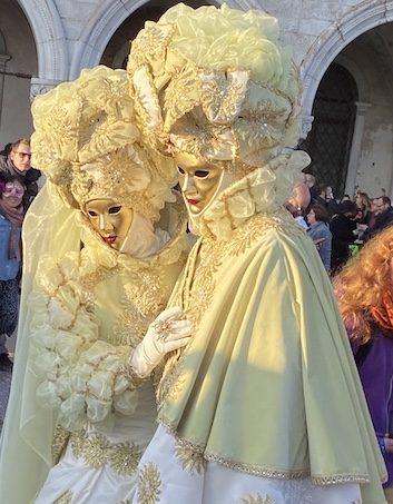 Golden Couple Carenevale di Venezia 2020