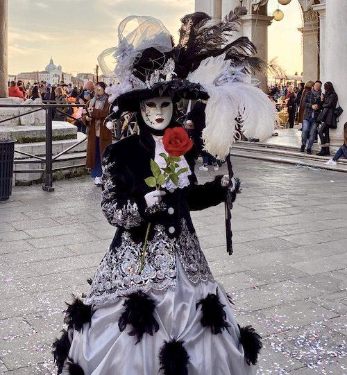 Silver and Black Carnevale di Venezia 2020