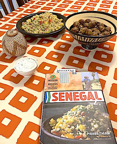 feast from Senegal cookbook