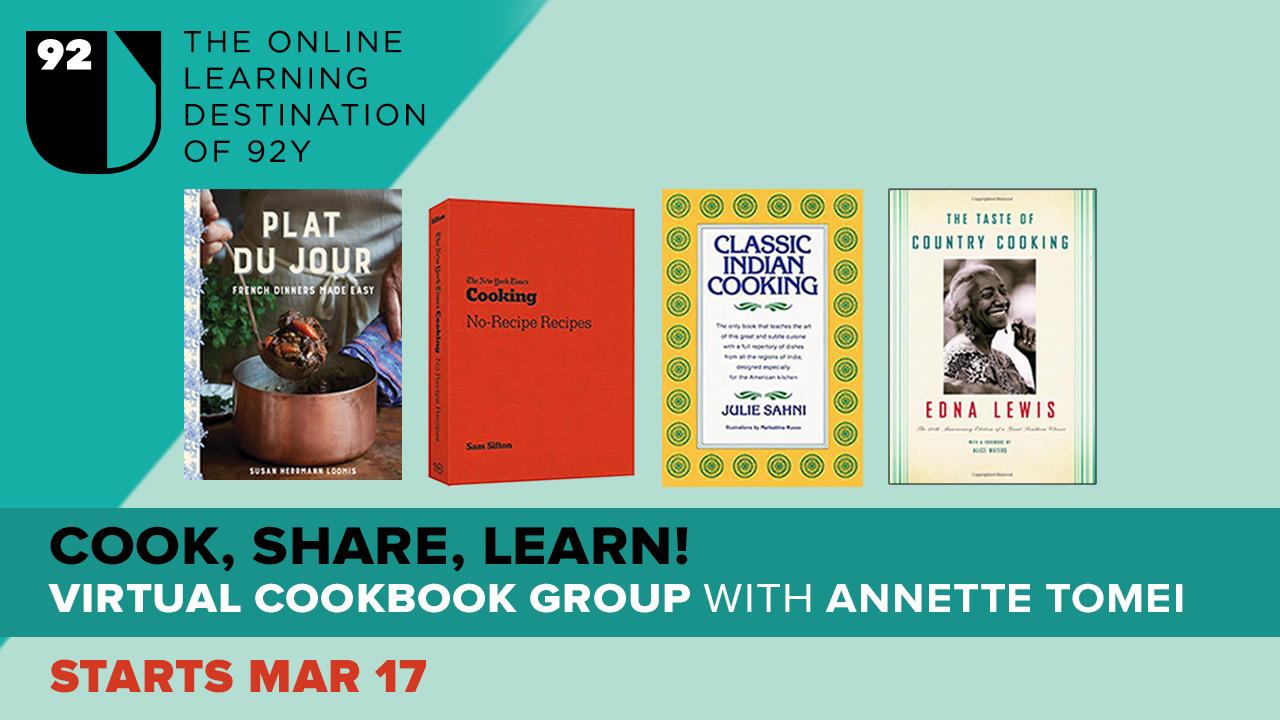 promoting virtual cookbook group