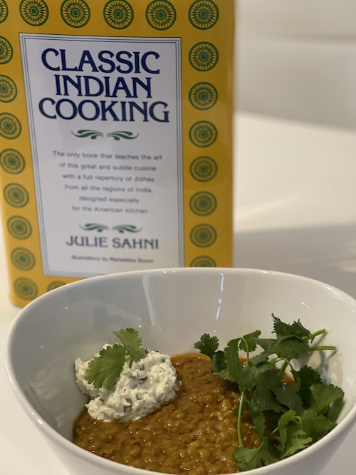 dal with photo of book